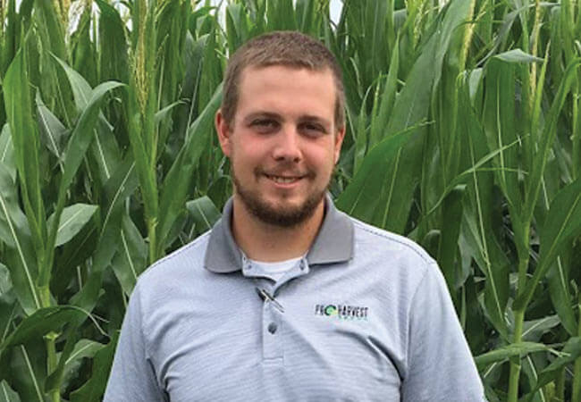 Jake Wilken with ProHarvest Seeds