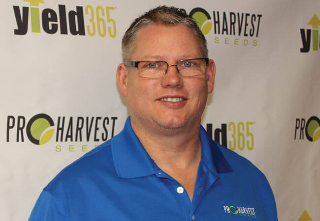 Doug Hanson with ProHarvest Seeds