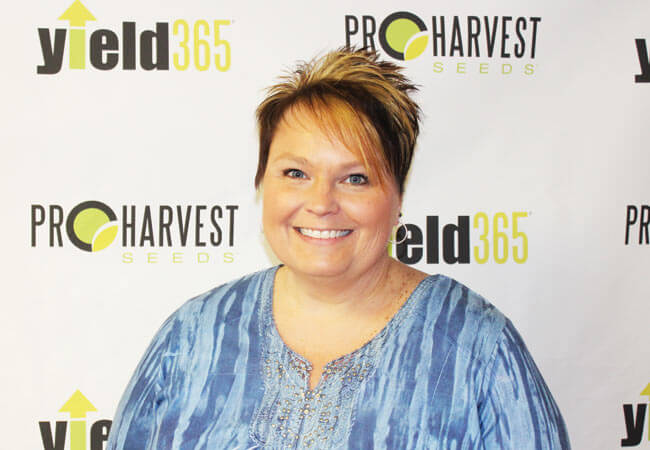 Jennifer Pralle with ProHarvest Seeds