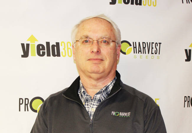 John Williams with ProHarvest Seeds