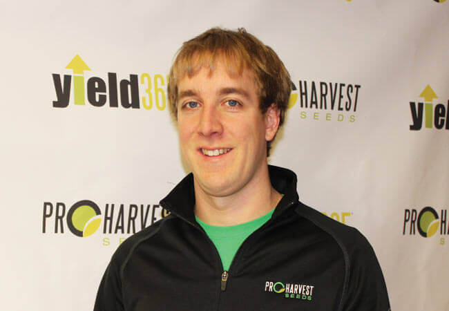 Josh Wilken with ProHarvest Seeds