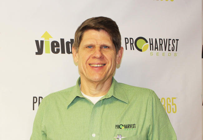 Keith Knapp with ProHarvest Seeds